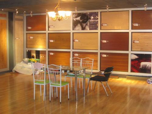 南宁德威木地板店面展厅